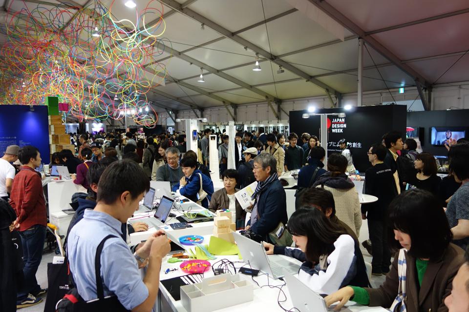 Autodesk Booth ( in Tokyo Design Week 2016)