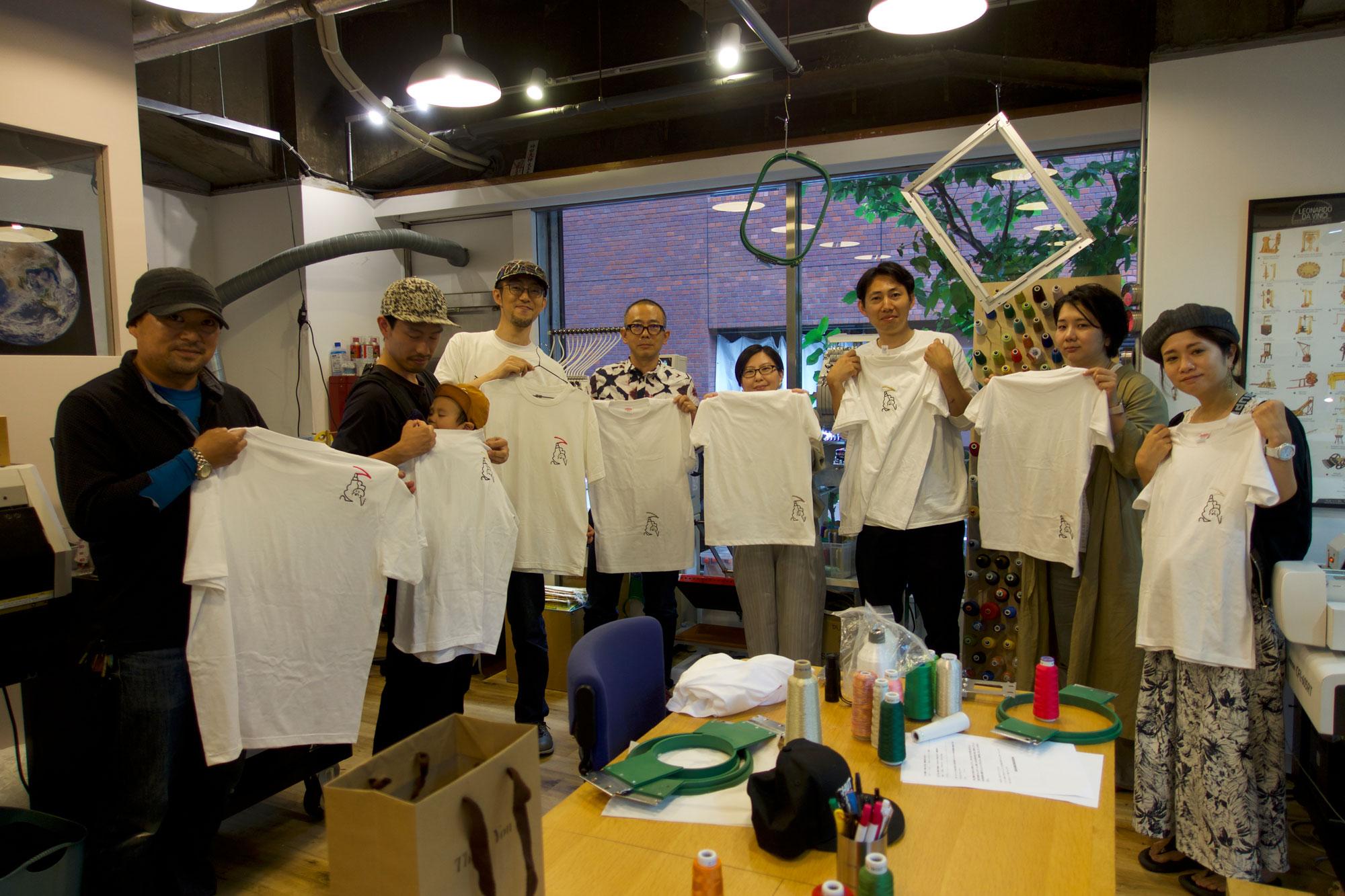 【Report】機械刺繍WS#1 ~刺繍Tシャツをつくろう~