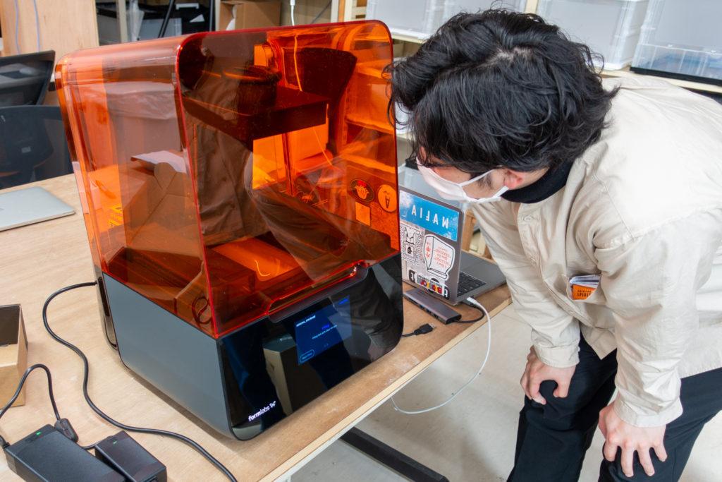 機材導入・レクチャー|横浜美術大学にform3を導入